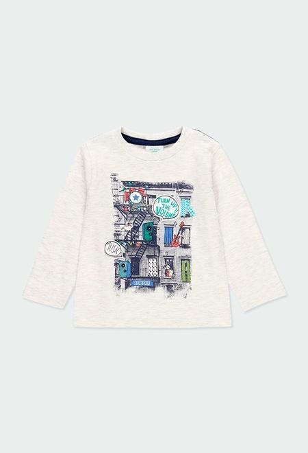 "T-Shirt tricot ""bbl music"" pour bébé garçon_1"