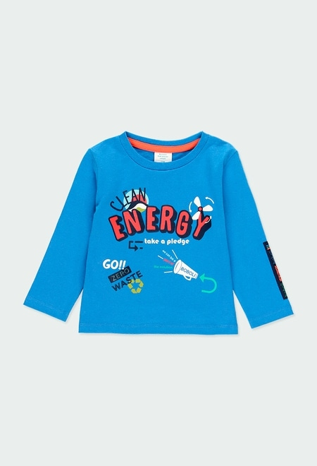 "Camiseta punto ""energy"" de bebé niño_1"