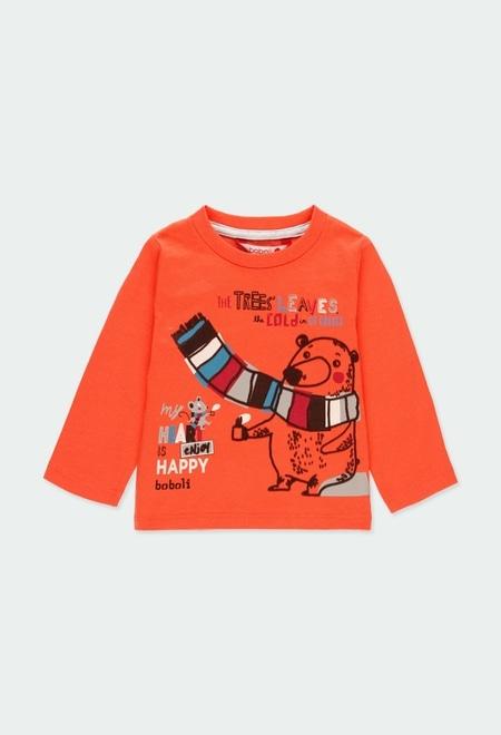 """Camiseta punto """"oso"""" de bebé niño_1"""