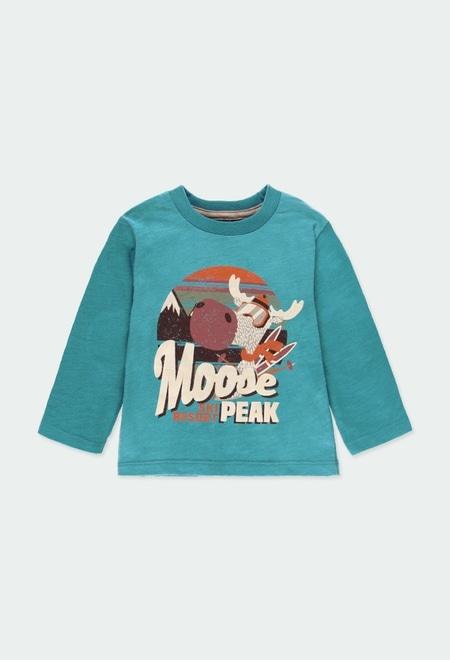 """Camiseta punto """"reno"""" de bebé niño_1"""