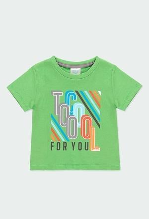 """Camiseta malha """"letras"""" para o bebé menino_1"""