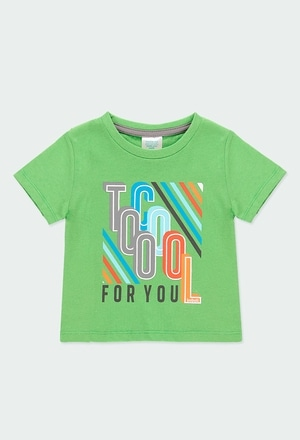 """Knit t-Shirt """"letters"""" for baby boy_1"""