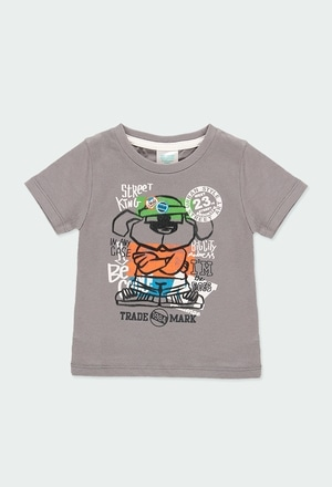 """Knit t-Shirt """"new york"""" for baby boy_1"""