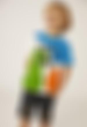 Camiseta punto manga corta de bebé