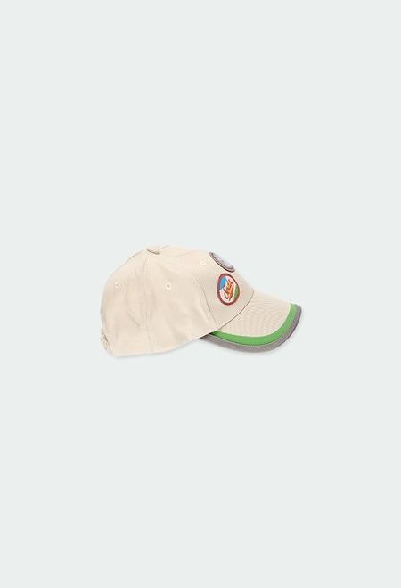 Twill cap for baby boy_1