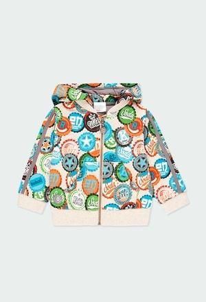Veste en molleton pour bébé garçon_1