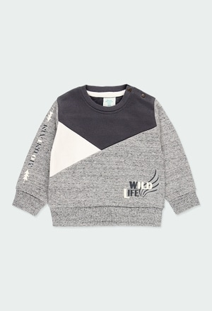 Sweatshirt felpa para o bebé menino_1