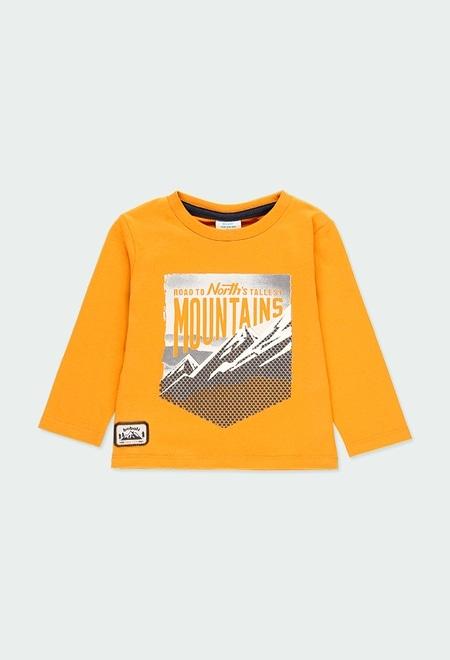 """Camiseta punto """"mountain"""" de bebé niño_1"""