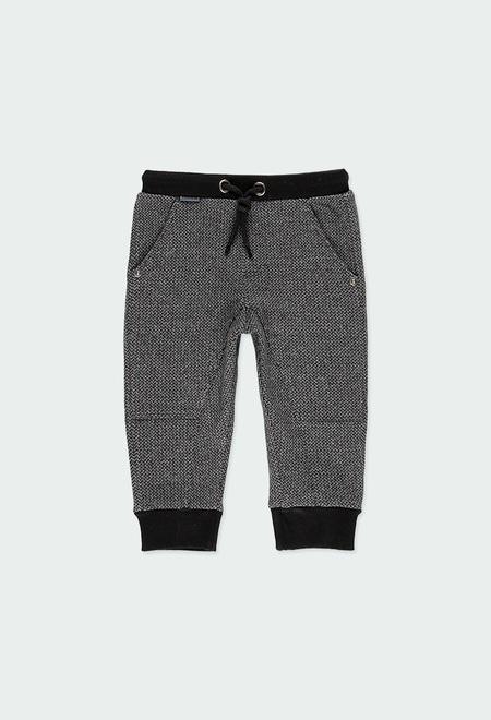 Pantalon maille pour bébé garçon_1