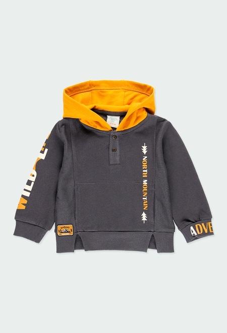 Sudadera felpa con capucha de bebé niño_1