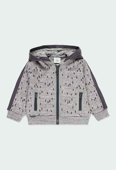 Fleece jacket for baby boy_1