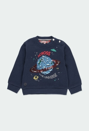 Fleece sweatshirt for baby boy_1