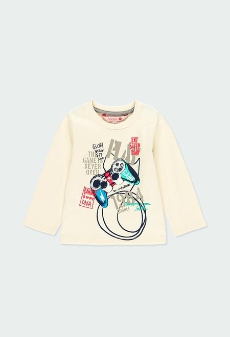 """Camiseta punto """"games"""" de bebé niño_1"""