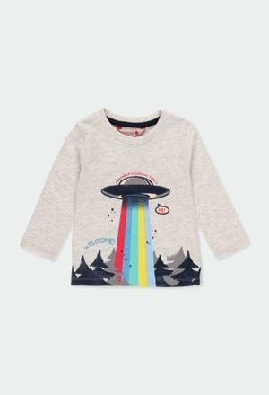 """Camiseta punto """"árboles"""" de bebé niño_1"""