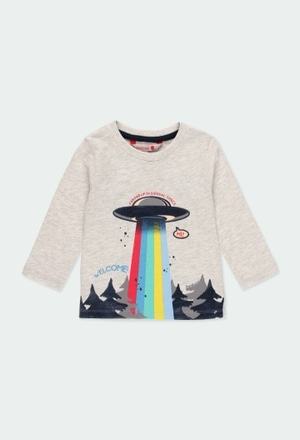 """Knit t-Shirt """"trees"""" for baby boy_1"""