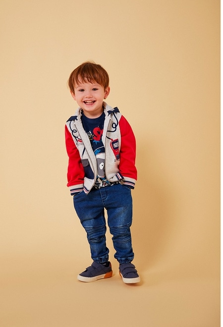 "Fleece jacket ""bbl music"" for baby boy_1"
