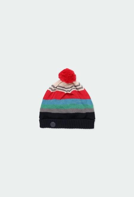Knitwear hat for baby boy_1