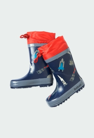 Boots rockets for baby boy_1