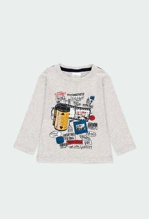 Camiseta malha fotos para o bebé menino_1