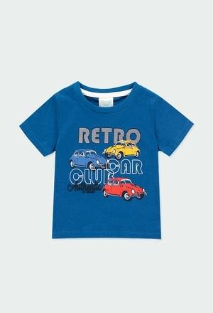 Camiseta malha carro para o beb? menino_1
