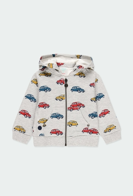 Fleece jacket cars for baby boy_1
