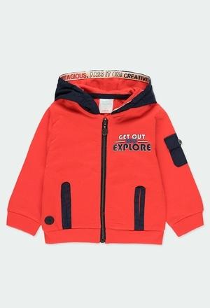 Fleece jacket hooded for baby_1