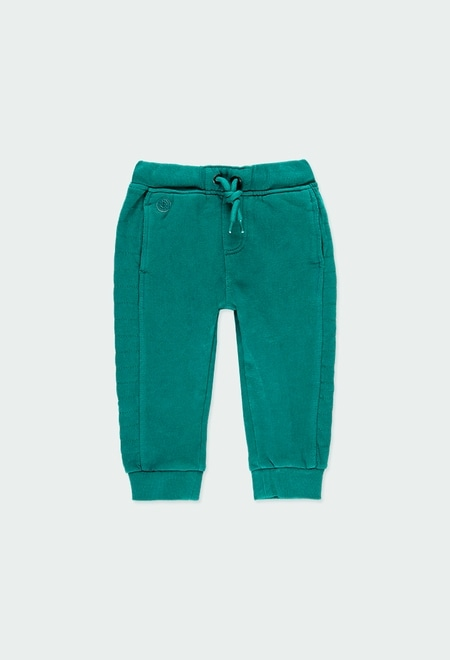Fleece trousers flame for baby boy_1