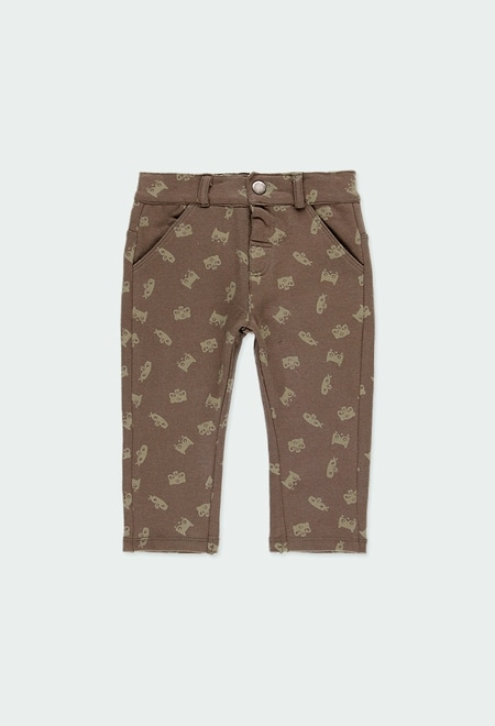 Fleece trousers for baby boy_1