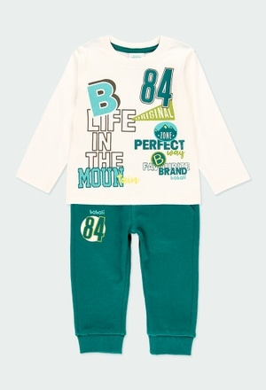 """Pack knit """"b84"""" for baby boy_1"""