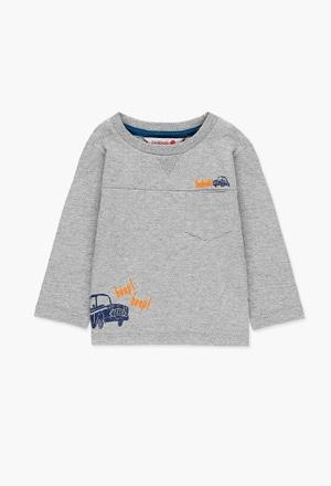 T-Shirt gestrickt flame für baby junge_1