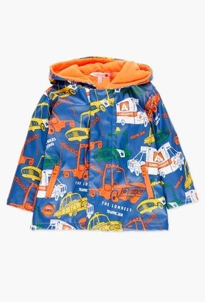 Impermeable con capucha de bebé niño_1
