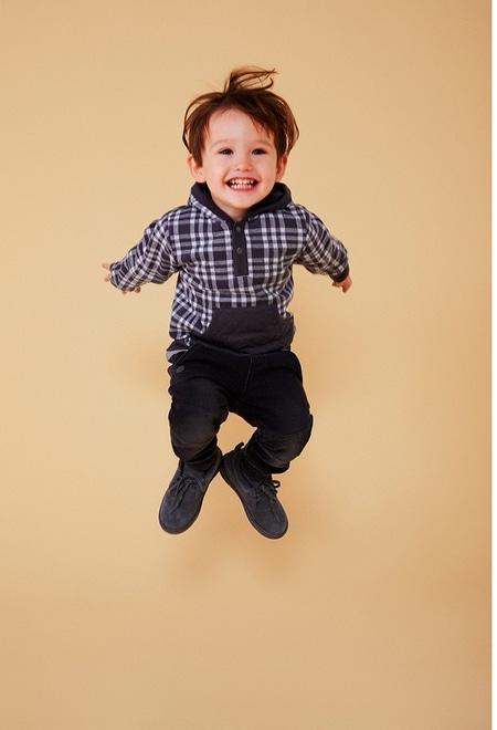 Sweatshirt quadros para o bebé menino_1