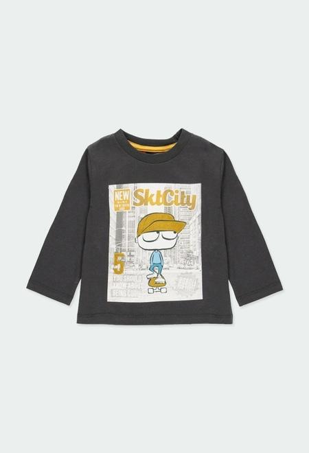 """Camiseta malha """"skate generation"""" do bébé_1"""