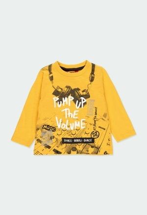 "Camiseta punto ""bbl music"" de bebé niño_1"