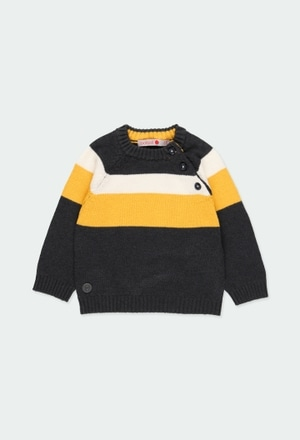 Knitwear pullover for baby boy_1