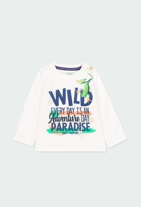 "Camiseta punto ""paradise"" de bebé niño_1"