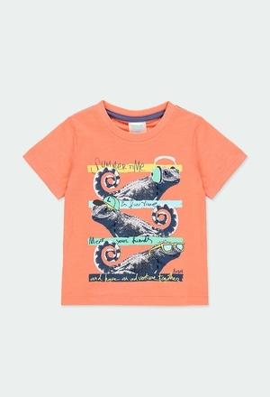 """Camiseta punto """"camaleón"""" de bebé niño_1"""