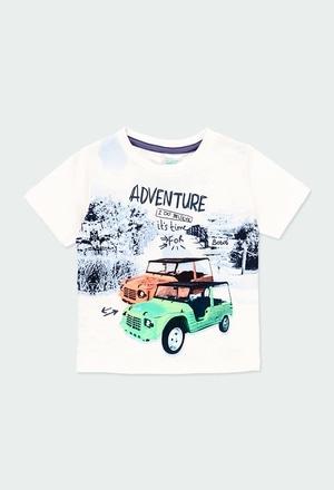 "Camiseta malha ""59 bbl adventure"" para o bebé menino_1"