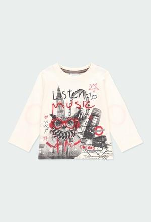 """T-Shirt tricot """"hibou"""" pour bébé garçon_1"""