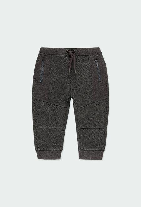 Pantalon maille fantasie pour bébé garçon_1