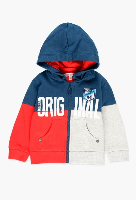 Fleece jacket for baby boy_1