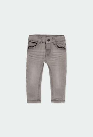 Pantaloni denim elastico per bimbo_1