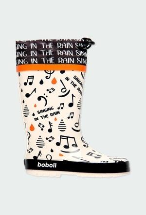 "Bottes ""bbl music"" pour gar?on_1"