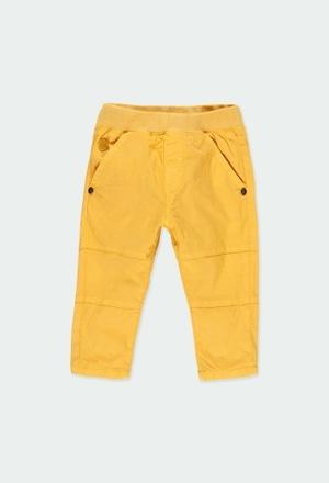 Calças gabardina elástica para o bebé menino_1