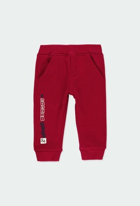 "Pantalón felpa ""b84"" de bebé niño_1"