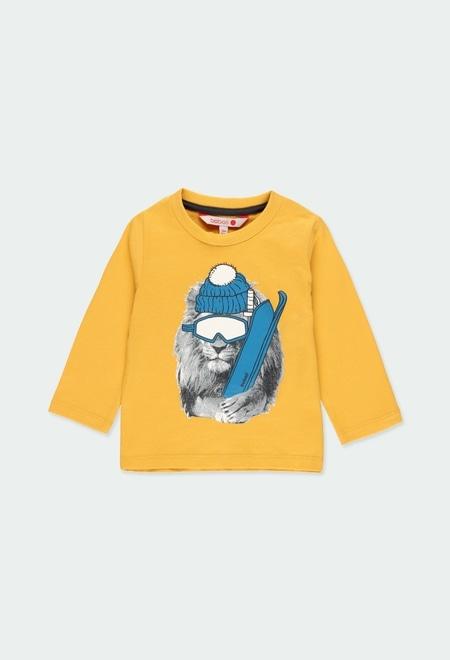 """T-Shirt tricot """"animaux"""" pour bébé garçon_1"""