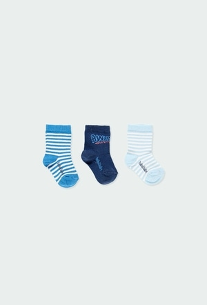 Pack meias curtas para o beb? menino_1