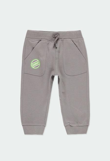 Pantalon en molleton pour bébé garçon_1