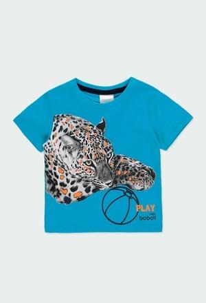 Maglietta jersey liscio per bimbo_1