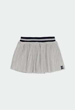 Jupe tricot pour fille_1